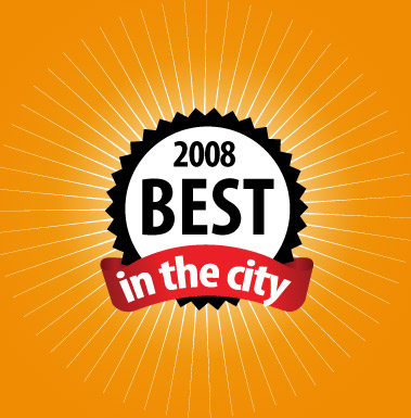 Best In the city logo