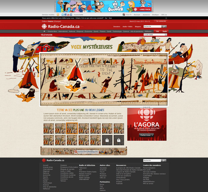 Frenchshore tapestry interactive project order propecia for Experience design consultant
